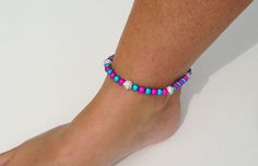Anklets with 6 Crystal Balls