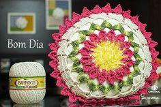 Bom dia! Crocheteiros e Crocheteiras <3 #bomdia #crochet #professorasimone #semprecirculo