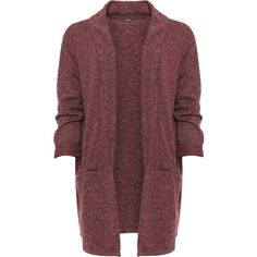 Maren Fleck Knit Open Cardigan (655 MXN) ❤ liked on Polyvore featuring plus size women's fashion, plus size clothing, plus size tops, plus size cardigans, cardigans, jackets, wine, red knit cardigan, wine cardigan and long sleeve knit tops