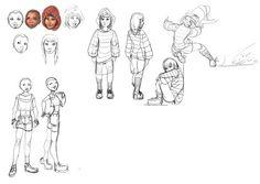 """ Some Concept sketches for the Upcoming Andorozon Mini series starting Pandora and Karabiner… Andorozon: Pandora's BOX. Pandora and Merry and Andorozon Concept© Ken. Vikings, Pandora, Merry, Sketches, Concept, Comics, Mini, Art, The Vikings"