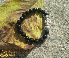 #bracelet #skull #beads #nyamasworld