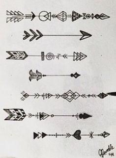 Resultado de imagen para unalome arrow tattoo