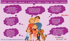 Puntos clave para educar a nuestros hijos e hijas de forma positiva 2