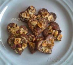 Zobrazit detail - Recept - Čokoládová srdíčka s lískovými oříšky