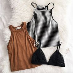 Women's fashion camis bralette Summer Outfits, Casual Outfits, Cute Outfits, Look Fashion, Fashion Outfits, Womens Fashion, Look Star, Jeans Boyfriend, Lingerie