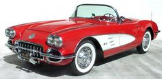 1959 Corvette  Oh, I built a scale one of these when I was a kid.  Always love em