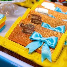 Festa Mundo Bita: 50 ideais criativas para adicionar à decoração Diy Box, Chocolate, Nutella, Scrapbook, Alice, Cake, Party, America 2, South America