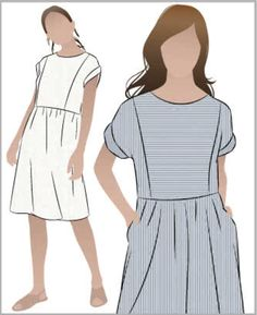 a4d2fa3bca3 STYLEARC  Slip into the fabulous Lacey Knit Dress. It s easy to make and  easy