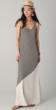 Hat + stripes + maxi = <3