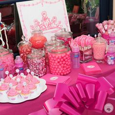 tori spelling's barbie party for Stella's Barbie Theme Party, Barbie Birthday Party, Pink Birthday, 4th Birthday Parties, Birthday Celebration, Birthday Ideas, Princess Birthday, Princess Party, 3rd Birthday