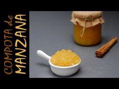 CÓMO HACER COMPOTA DE MANZANA   Ideal como acompañamiento de carnes - YouTube Eggs, Tableware, Youtube, Kitchen, Ideas, Apple Sauce, Marmalade, Deserts, Recipes