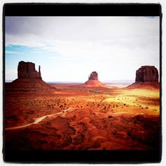 Monument Valley,Utah...went horseback riding here and it was 103 degrees!