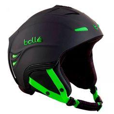 26b131ad09d 60cm Bolle Powder Ski Helmet Black with Green for £86 at Urban Surfer! Ski