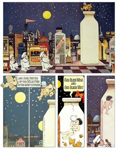 Maurice Sendak,  In the Night Kitchen -- our kids all loved this book!