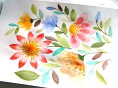 watercolor-flowers-apieceofrainbowblog (14)                              …