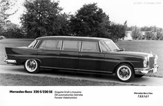 """220S/SE """"Fin Tail"""" Limo"""