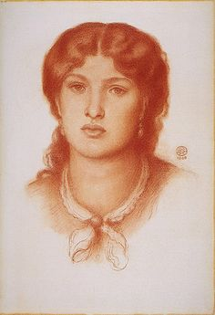 Fanny Cornforth - an English maidservant who became a model and mistress to Pre-Raphaelite painter Dante Gabriel Rossetti. A member of the lower working class of English society, Cornforth performed the duties of housekeeper for Rossetti.