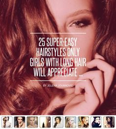 25 #Super-Easy Hairstyles Only Girls with Long Hair Will Appreciate ... - Hair