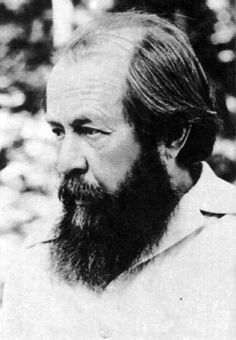 Aleksandr Solzhenitsyn's The Gulag Archipelago was first published in France in 1973. Courtesy of the International Memorial Society.