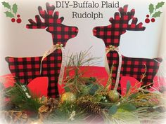 DIY BUFFALO PLAID RU