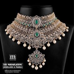Diamond Necklace Simple, Real Diamond Earrings, Diamond Choker Necklace, Diamond Jewellery, Neck Choker, Drop Necklace, Bridal Bangles, Bridal Jewellery, Jewelry Patterns