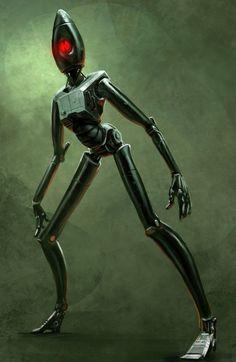 Robot 2 by Phade01 on deviantART