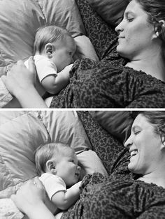 This is about the sweetest photo I've ever seen. I love the way you captured the joy shared by baby AND mom while nursing. #westlightphotography