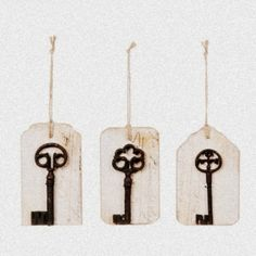 All Keyed Up...from OC Cottage - LOVE this idea soooo much!!