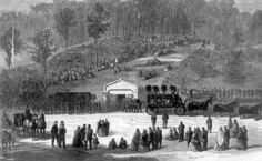 Images of Abraham Lincoln's Funeral Portrayed the Profound Grief of a Nation: The Funeral In Springfield