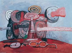 As It Goes - (Philip Guston)