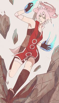 cherry fury by arriku on deviantART | Sakura Haruno