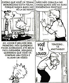 Calvin And Hobbes, Peanuts Comics, Comic Books, Humor, Funny Things, Jokes, Humorous Pictures, Study, Humour