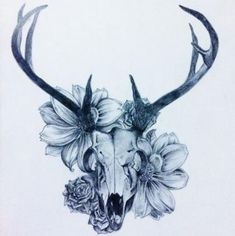 Ideas tattoo girl skull flowers - Ideas tattoo girl skull flowers You are in the right place about tattoo design - Neue Tattoos, Body Art Tattoos, Sleeve Tattoos, Tattoo Art, Arm Tattoo, Hand Tattoos, Tattoo Girls, Girl Tattoos, Fox Tattoos