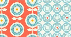 Inspired by Scandinavian retro and vintage patterns