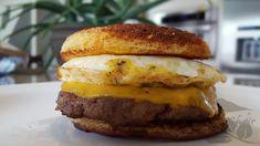 Breakfast Sandwich on 90 Second Bread