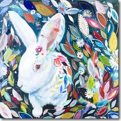 Bunny in Wonderland - by Starla Michelle -SkylineArtEditions.com