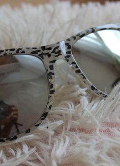 Kup mój przedmiot na #vintedpl http://www.vinted.pl/akcesoria/bizuteria/13951554-okulary-przeciwsloneczne-panterka-szare-lustro