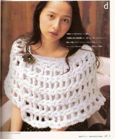 Capa-Chal Rejilla Crochet Tutorial - Patrones Crochet