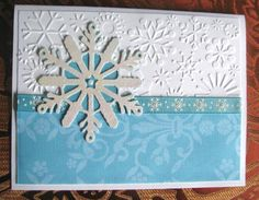 Cricut Christmas Card. Wrap it Up Cartridge.