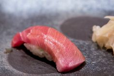 Singapore Best Omakase Sushi at Shinji by Kanesaka - Chutoro Sushi (Medium fatty Tuna Belly)