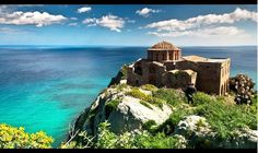 Sophia in Monemvasia Peloponnese - Wonderful Greece Places Around The World, Oh The Places You'll Go, Around The Worlds, Monemvasia Greece, Corinth Canal, Travel Log, World Best Photos, Monument Valley, Explore