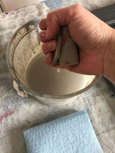 If you've ever sanded Chalk Paint by Annie Sloan then you know what a mess it creates and is only suited to working outdoors. However, the good news is that if… Chalk Paint Chairs, White Chalk Paint, Painted Chairs, Chalk Paint Furniture, Furniture Design, Distressing Chalk Paint, Annie Sloan Chalk Paint, Homemade Chalk Paint, Colorful Dresser