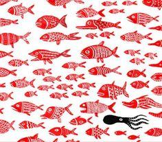 Fish and marine mammals