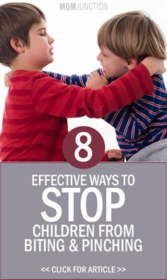 how to get toddler to stop biting