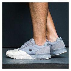 Le Coq Sportif Omega: Grey/White