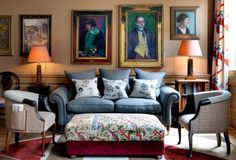 An artsy hideaway in the heart of central London's Bloomsbury neighbourhood, the Charlotte Street Hotel charms with its private cinema, elegant bar and colourful, comfortable rooms.