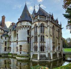 Le château de Vigny, département du Val-d'Oise