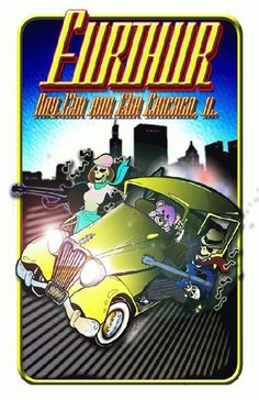 Original concert poster for Furthur in Chicago, IL in 2010. 11 x 17