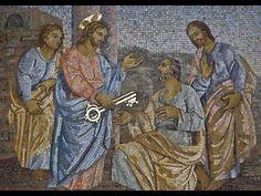 ¿Por qué celebramos juntos a San Pedro y San Pablo? Simon Pedro, Spiritual Counseling, San Pablo, Vatican, Cherub, Mosaic Art, Deities, Spirituality, Bible