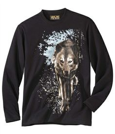 T-Shirt Mit Wolfsmotiv : http://www.atlasformen.de/products/bekleidung/t-shirt/t-shirt-mit-wolfsmotiv/19670.aspx #atlasformen #atlasformende #atlasformendeutschland #meinung